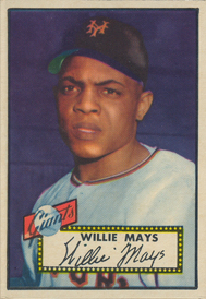 Selling Willie Mays Baseball Cards American Legends