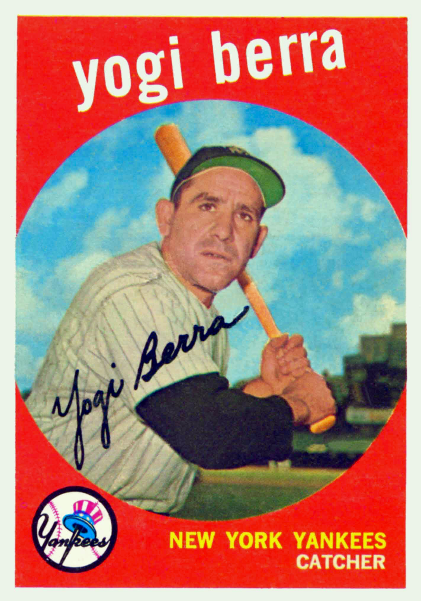 Selling Yogi Berra Baseball Cards American Legends