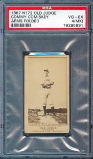 N172 Old Judge Cigarette Cards American Legends